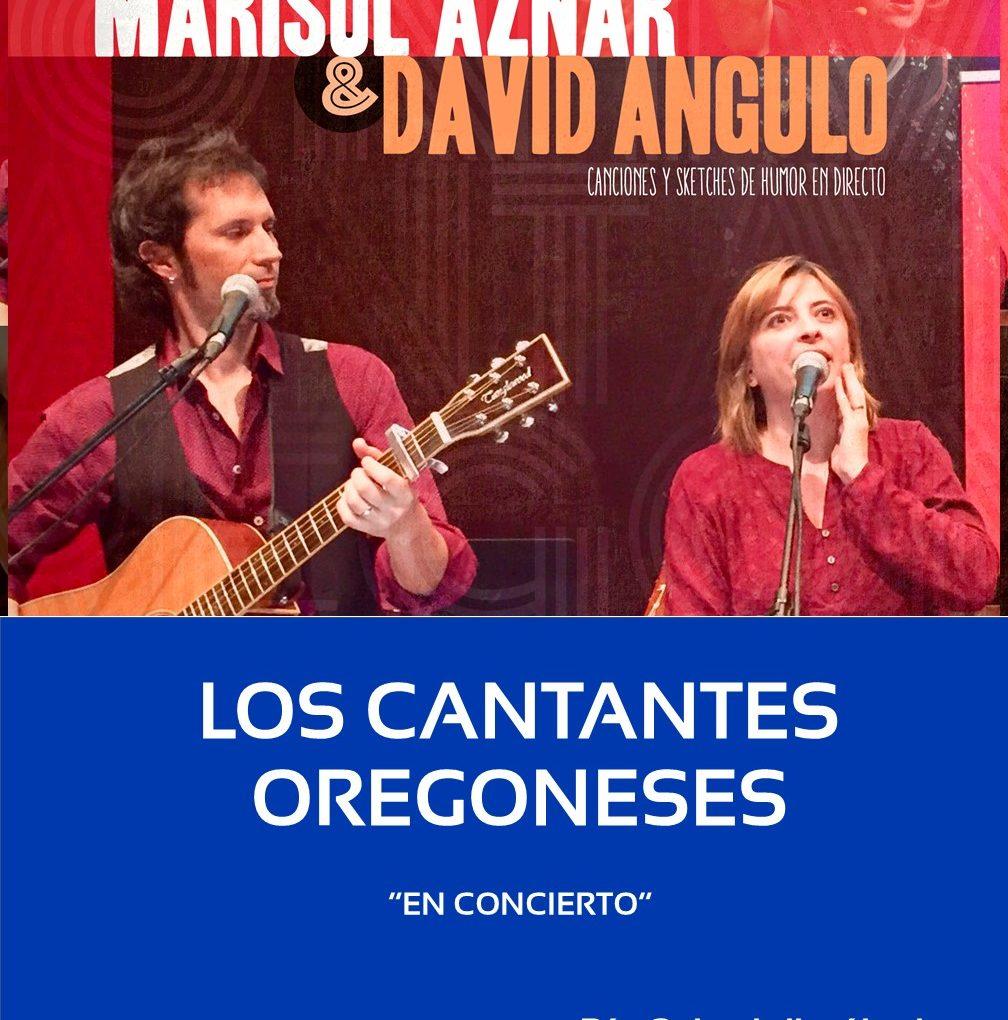 """LOS CANTANTES OREGONESES """"EN CONCIERTO"""""""